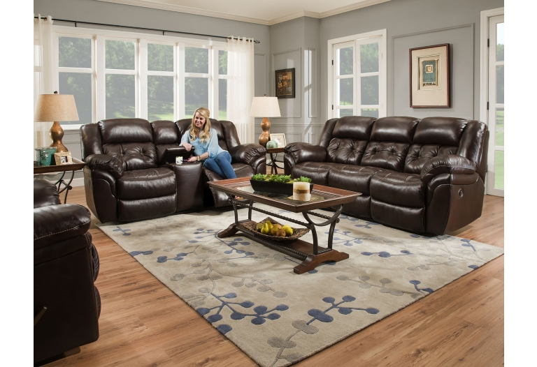 Awe Inspiring Cheyenne Double Reclining Leather Sofa Color Whiskey Pabps2019 Chair Design Images Pabps2019Com