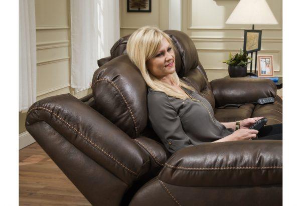 Sammie's Furniture, HomeStretch, Enterprise power reclining sofa, Walnut