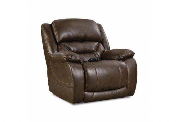 Sammie's Furniture, HomeStretch, Enterprise, power recliner, Walnut