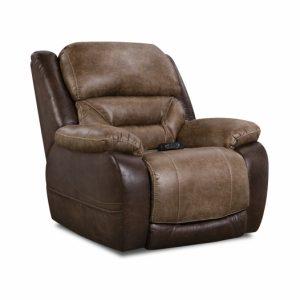 Sammie's Furniture, HomeStretch, Enterprise power recliner, Saddle