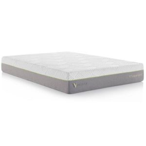 Sammie's Furniture, 11 inch Latex Hybrid Mattress, Malouf, Gray, zip around