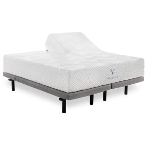 Sammie's Furniture, 14 inch Gel Foam Mattress, Malouf, White