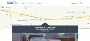 Sammie's Furniture, Tempur-Sealy Store Locator